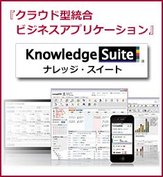 グループウェア/SFAに関する悩みは「Knowledge Suite」で解決!!
