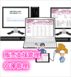 【販売支援/顧客管理・入出庫/在庫システム】(Sales/Zaiko express)